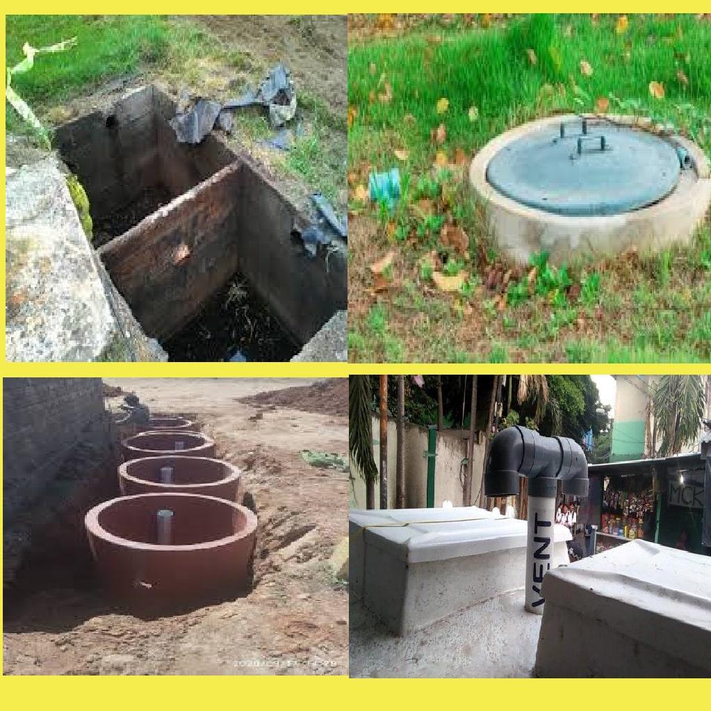 jenis jenis septic tank, cara membuat resapan septi tank